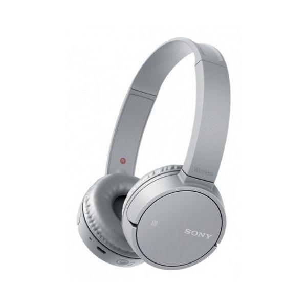 Sluchátka s Bluetooth Sony WHCH500H NFC Šedý