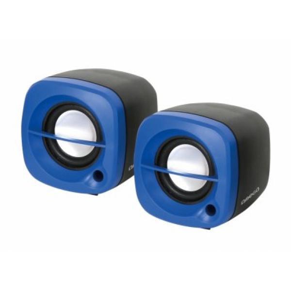 Głośniki Komputerowe 2.0 Omega OG15BL 6W USB Niebieski