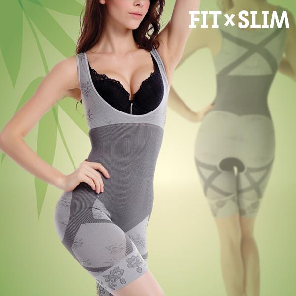 Gorset Redukujący i Modelujący Bamboo Shapewear Unibody - L