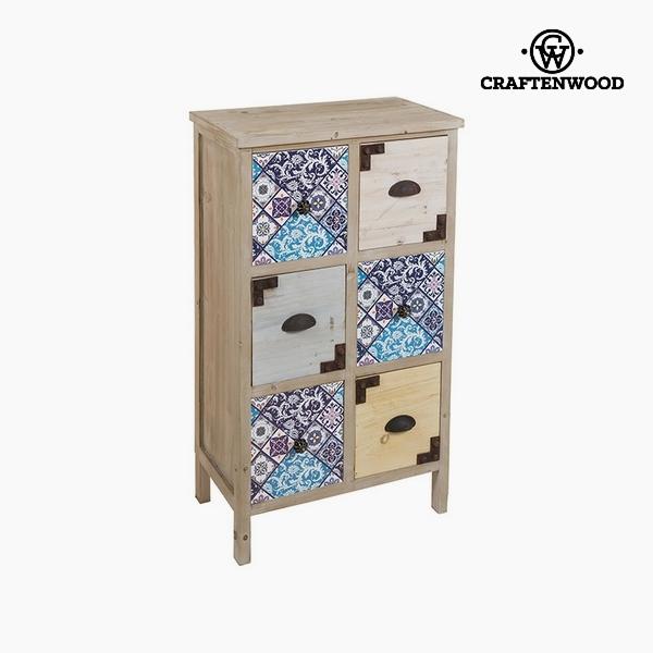 Prádelník Jedlové dřevo (56 x 35 x 97 cm) by Craftenwood