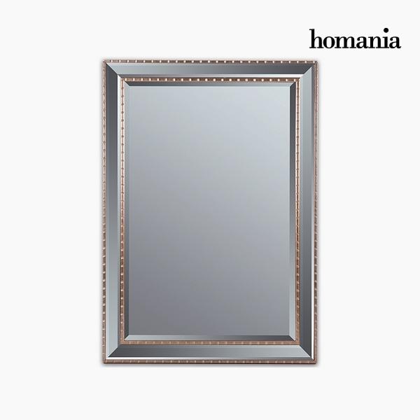 Lustro Żywica syntetyczna Szkło fazowane Srebrzysty Złoty (76 x 3 x 106 cm) by Homania
