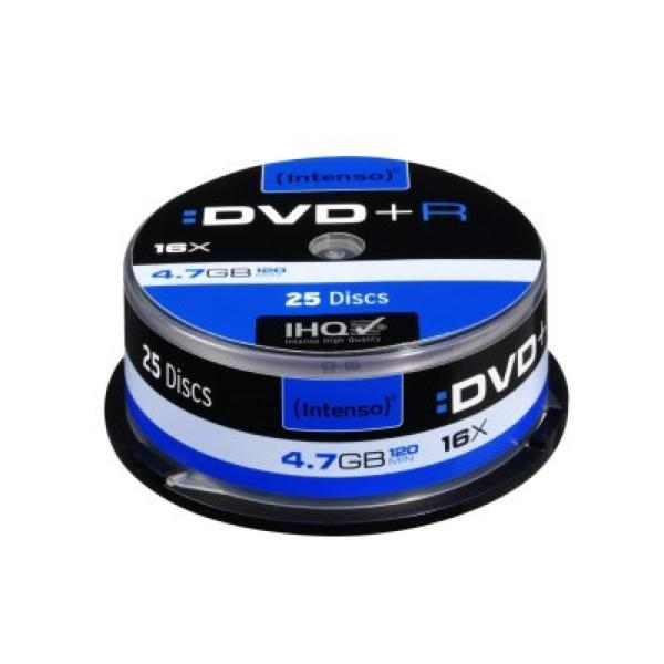 DVD+R INTENSO 4111154 16x 4.7 GB 25 pcs