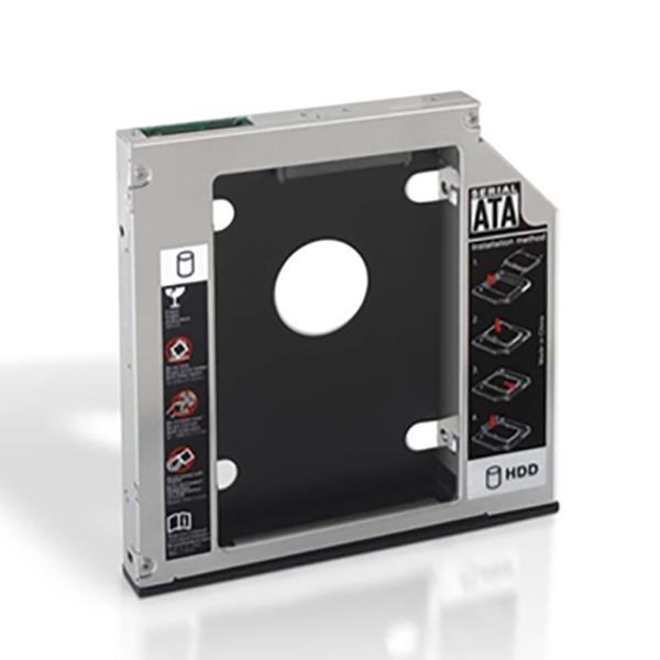 Kovový adaptér pro 2 hard disky (3,5