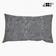 Poduszka zebra kolor szary by Loom In Bloom