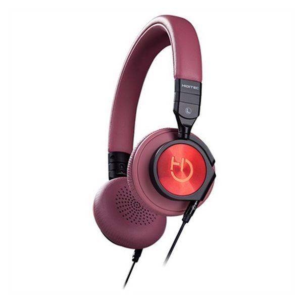 Sluchátka a mikrofon Hiditec WHP010000 Kaštanová