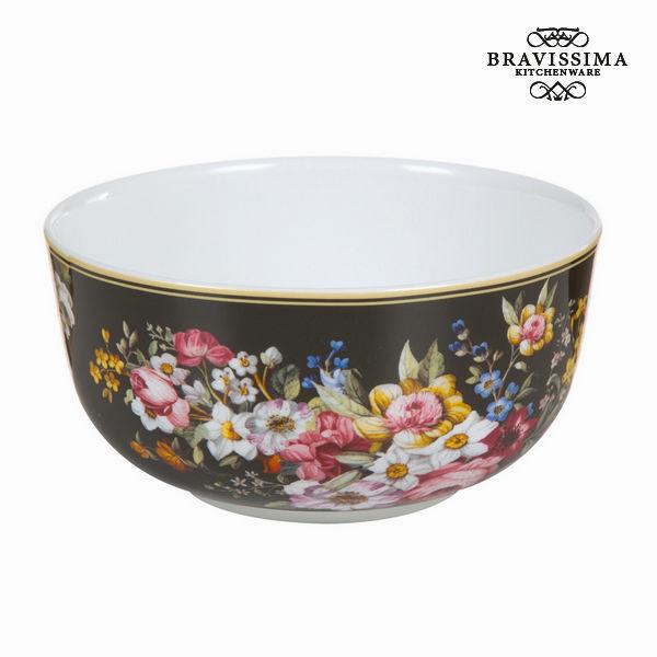 Miska porcelana bloom black - Kitchen's Deco Kolekcja by Bravissima Kitchen