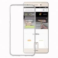 Puzdro na mobil Huawei P8 Lite 2017 Flex Transparentná