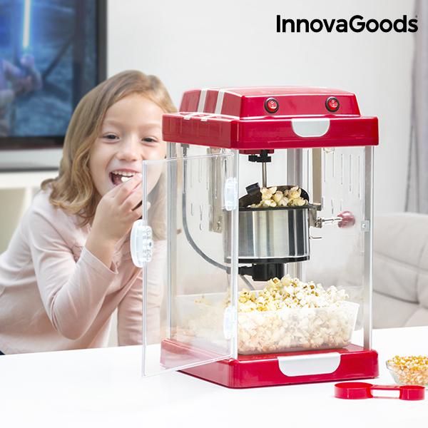 Popcornovač Tasty Pop Times InnovaGoods 310 W Červený