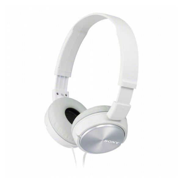 Sluchátka s čelenkou Sony MDRZX310APW 98 dB Bílý