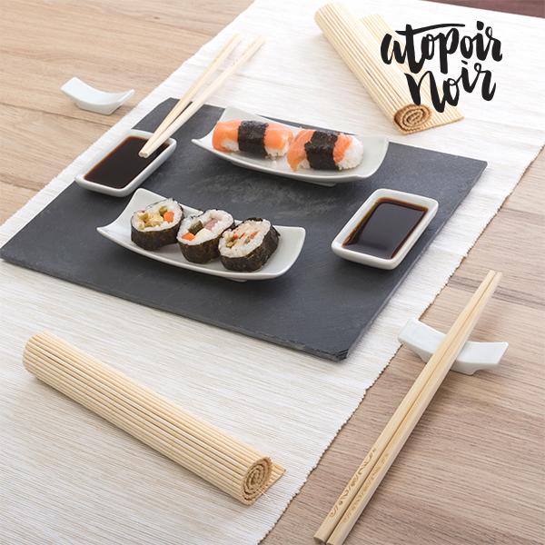 Zesaw do sushi z tacą z Tablicy (11 części)