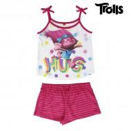 Letné Dievčenské Pyžamo Trollovia - 4 roky
