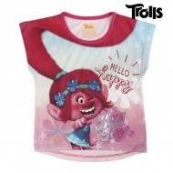 Koszulka z krótkim rękawem dla dzieci Trolls 8699 (rozmiar 4 lat)