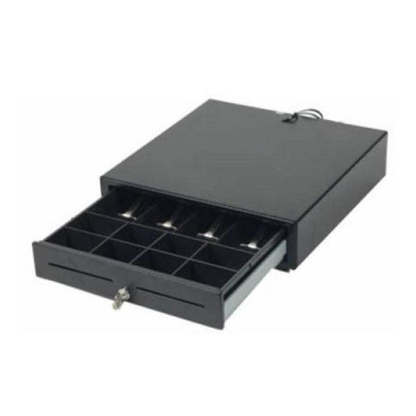 Pokladní zásuvka Mustek 410A2-194 41 cm Černý