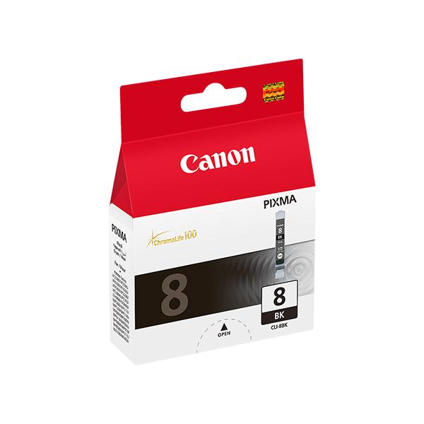 Originální inkoustové náplně Canon CLI-8 BK Černý