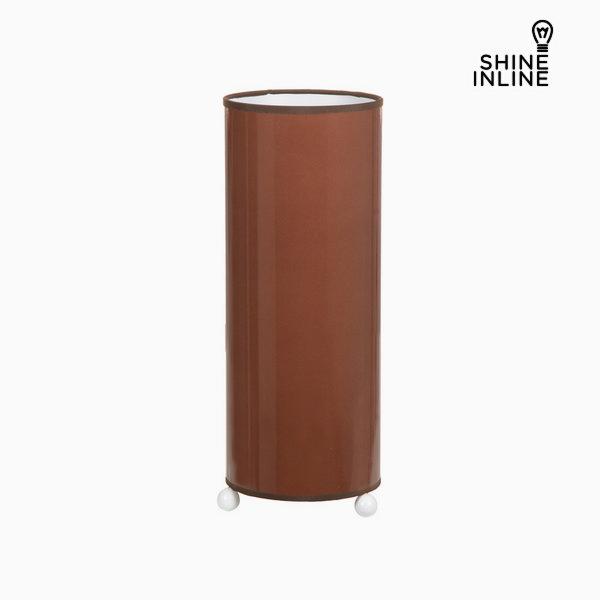 Hnědá keramická stolní lampa by Shine Inline