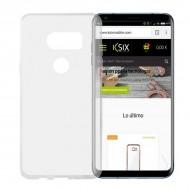 Puzdro na mobil Lg V30 Flex TPU Ultratenký Transparentná