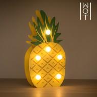 Drewniany Ananas Dekoracyjny Wagon Trend (6 LED)