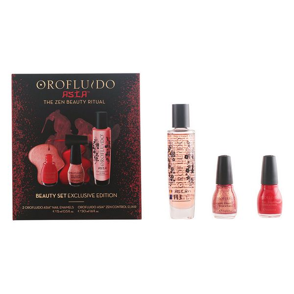 Zestaw do Manicure Asian Orofluido 84961