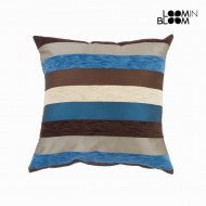 Poduszka Niebieski (45 x 45 x 10 cm) - Colored Lines Kolekcja by Loom In Bloom