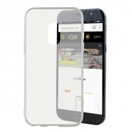 Pouzdro na mobily Samsung Galaxy A5 2017 Flex TPU Ultratenký Transparentní