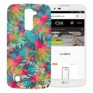 Pouzdro na mobily Lg K10 Flex TPU Džungle
