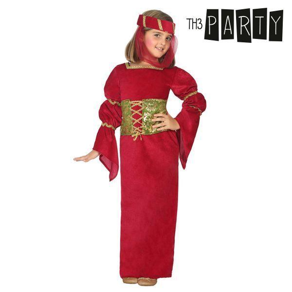 Kostým pro děti Th3 Party Středověká dáma - 7–9 roků