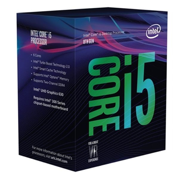 Procesor Intel Intel® Core™ i5-8400 Processor BX80684I58400 Intel Core i5 8400 2,8 Ghz 9 MB LGA 1151