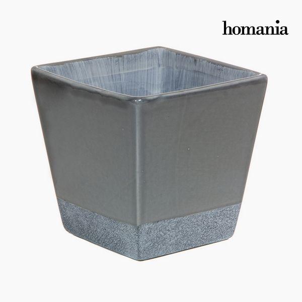 Doniczka Ceramika Szary by Homania