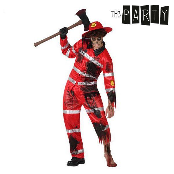 Kostium dla Dorosłych Th3 Party Strażak zombie - XL