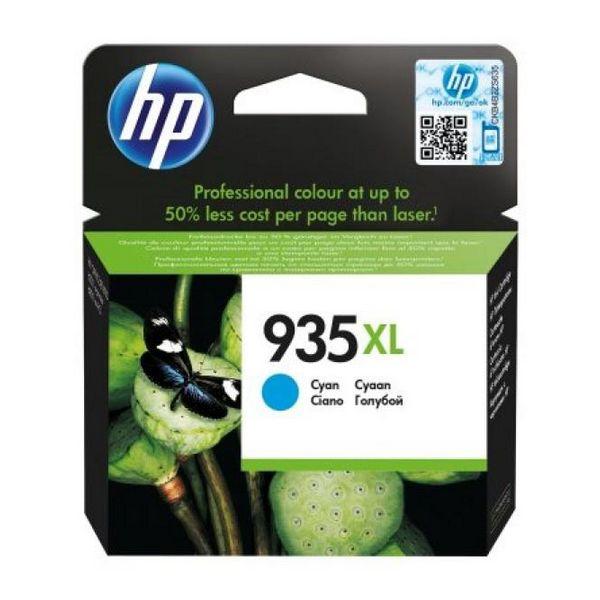 Originální inkoustové náplně Hewlett Packard C2P24AE Azurová