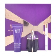 Souprava sdámským parfémem Alien Thierry Mugler (3 pcs) Fialový