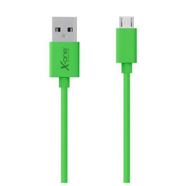 Kabel USB do Micro USB Ref. 101295 Kolor Zielony