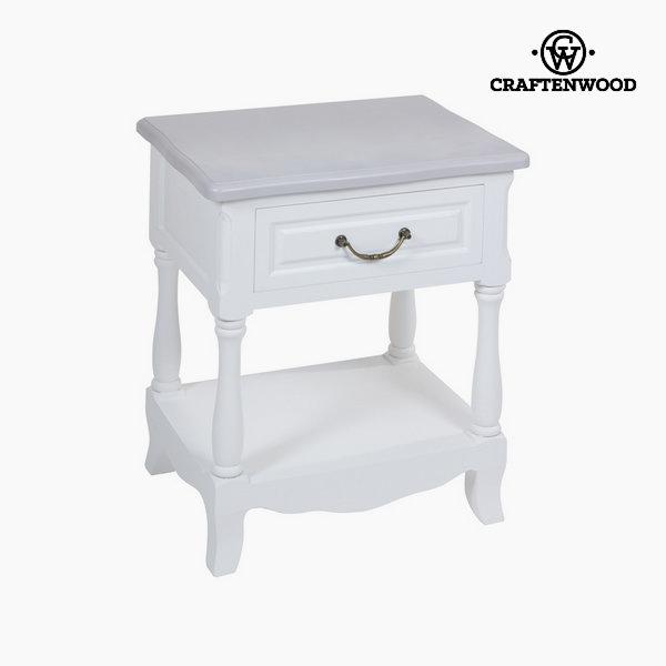 Bílý noční stolek altea by Craftenwood