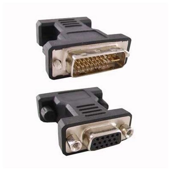24 + 5 DVI Converter to VGA HDB 15 NANOCABLE 10.15.0704 Male Plug Socket