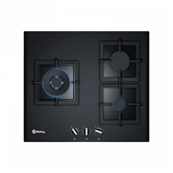 Płyta gazowa Balay 219582 3ETG663HN 8000W 60 cm Czarny Szkło