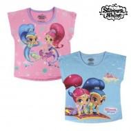 Koszulka z krótkim rękawem dla dzieci Shimmer and Shine 6466 Różowy (rozmiar 4 lat)