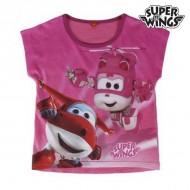 Koszulka z krótkim rękawem dla dzieci Super Wings 303 (rozmiar 6 lat)