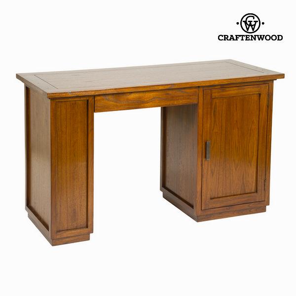 Psací stůl Akátové dřevo (130 x 78 x 55 cm) - Serious Line Kolekce by Craftenwood