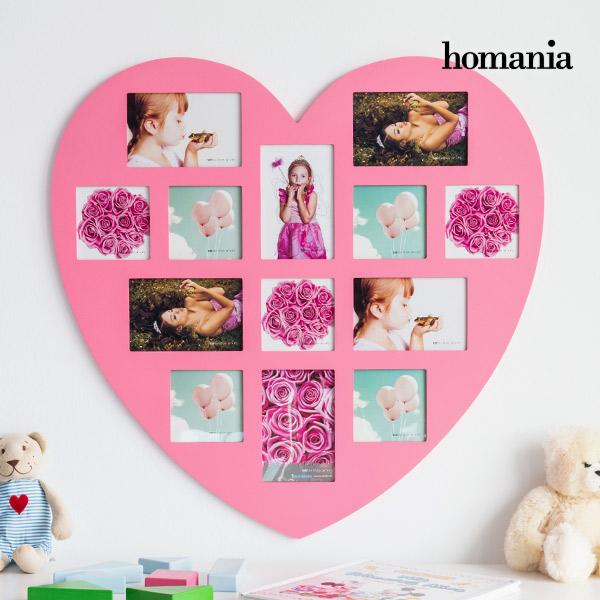 Ramka na Zdjęcia Pink Heart Homania (13 zdjęć)