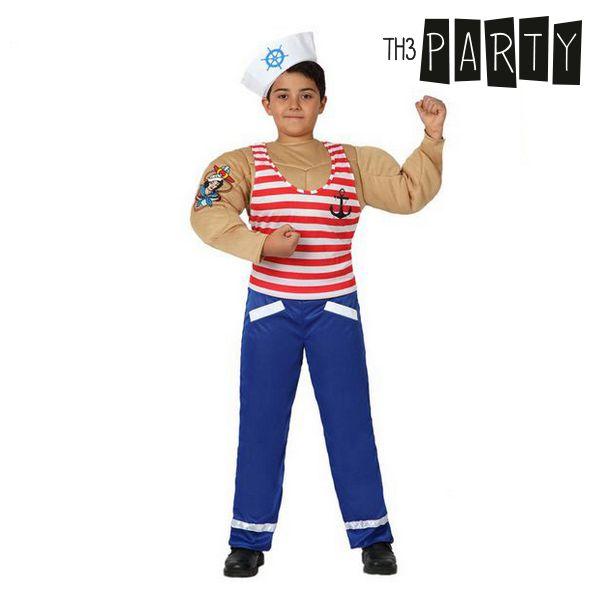 Kostým pro děti Th3 Party Svalnatý námořník - 10–12 roků