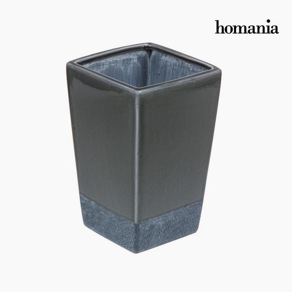 Ceramiczny szary wazon by Homania