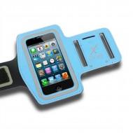 Sportovní neoprenové pouzdro na telefon X-ONE 106177 Velikost L Světle Modrý