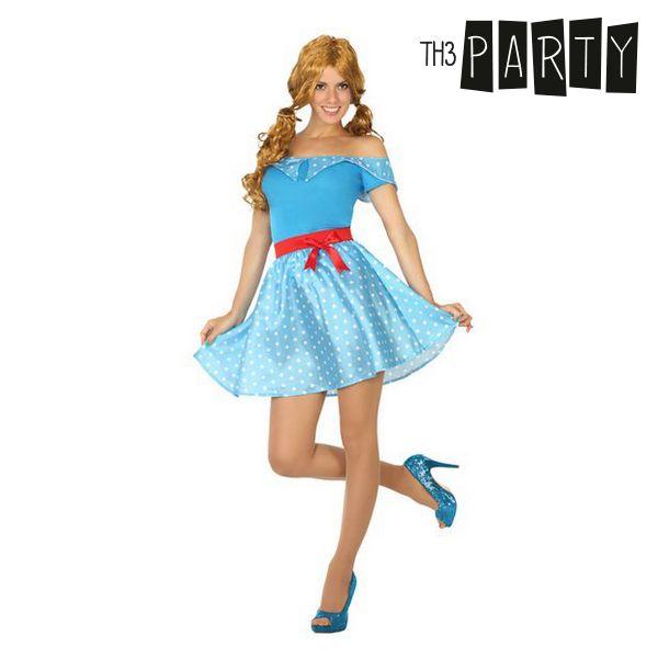 Kostým pro dospělé Th3 Party 50 let Modrý - XS/S