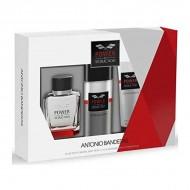 Zestaw Perfum dla Mężczyzn Power Of Seduction Antonio Banderas (3 pcs)