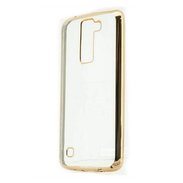 Pouzdro LG K8 Ref. 199377 TPU Kov Zlatá