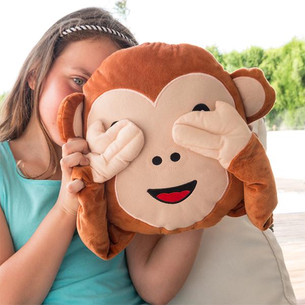 Polštář se Smajlíkem Opice