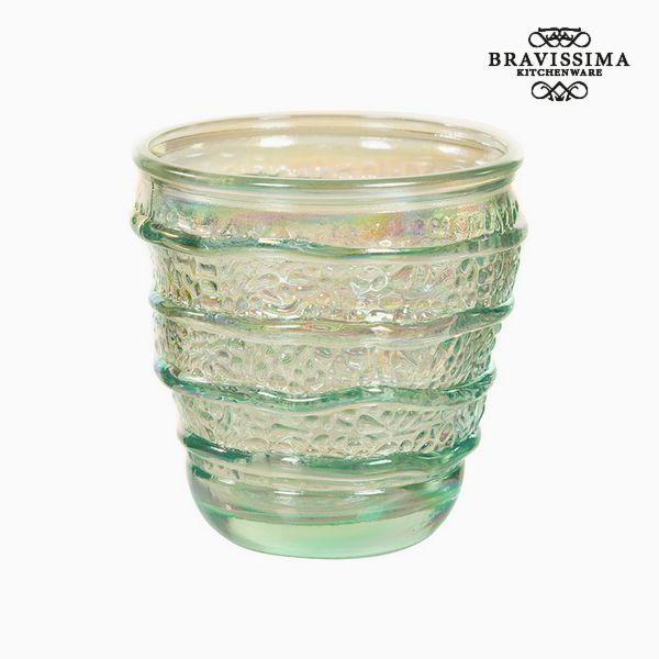 Váza z recyklovaného skla (9 x 9 x 9 cm) by Bravissima Kitchen