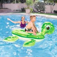 Nafukovací matrace Turtle Bestway 41041 (147 x 140 cm) Zelená