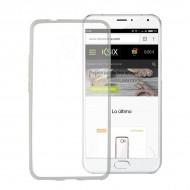 Puzdro na mobil Meizu M3 Note Flex TPU Ultratenký Transparentná
