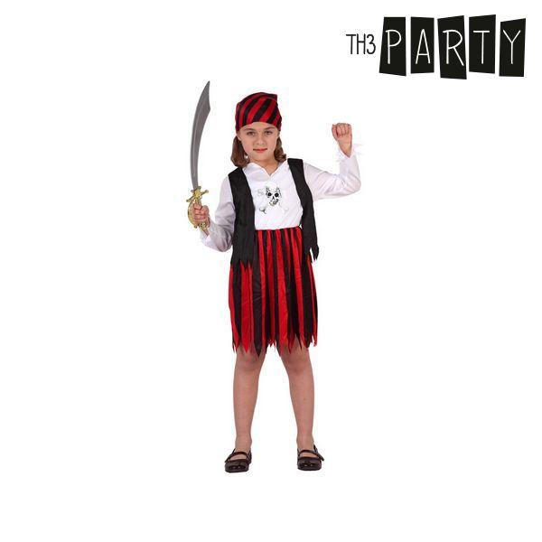 Kostým pro děti Th3 Party Pirát Červený - 3–4 roky